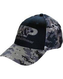 Smith & Wesson Men's Camo Ball Cap, , hi-res