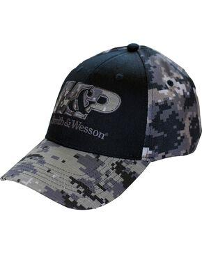 Smith & Wesson Men's Camo Ball Cap, Camouflage, hi-res