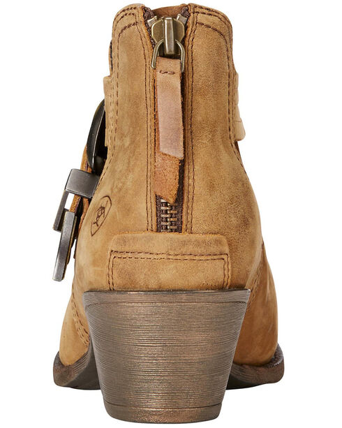 Ariat Women's Dulce Tawny Ankle Boots, Tan, hi-res