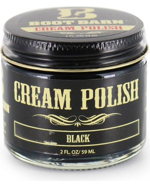 BB Ranch Black Leather Cream Polish , Black, hi-res