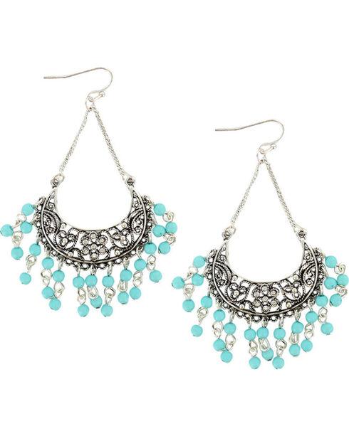 Shyanne® Women's Chandelier Dangle Earrings, Turquoise, hi-res