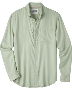 Mountain Khakis Men's Passport EC Long Sleeve Shirt, Green, hi-res