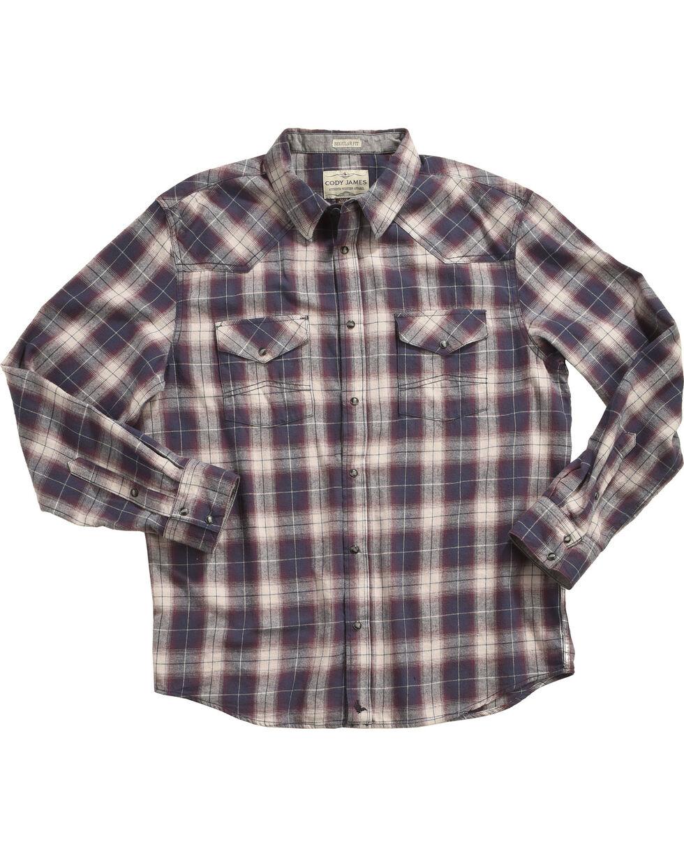 Cody James Men's Plaid Printed Long Sleeve Shirt - Tall, , hi-res