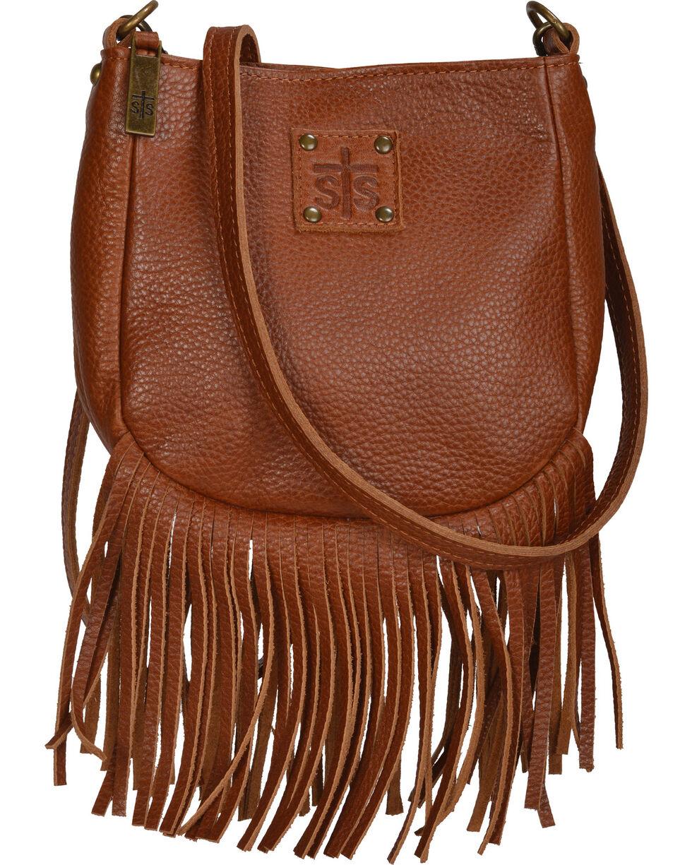 STS Ranchwear Saddle Brown Medicine Bag , Tan, hi-res