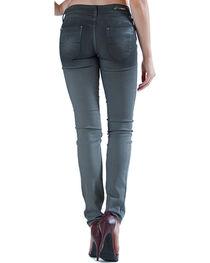 Grace in LA Women's Grey Cast Skinny Jeans, , hi-res