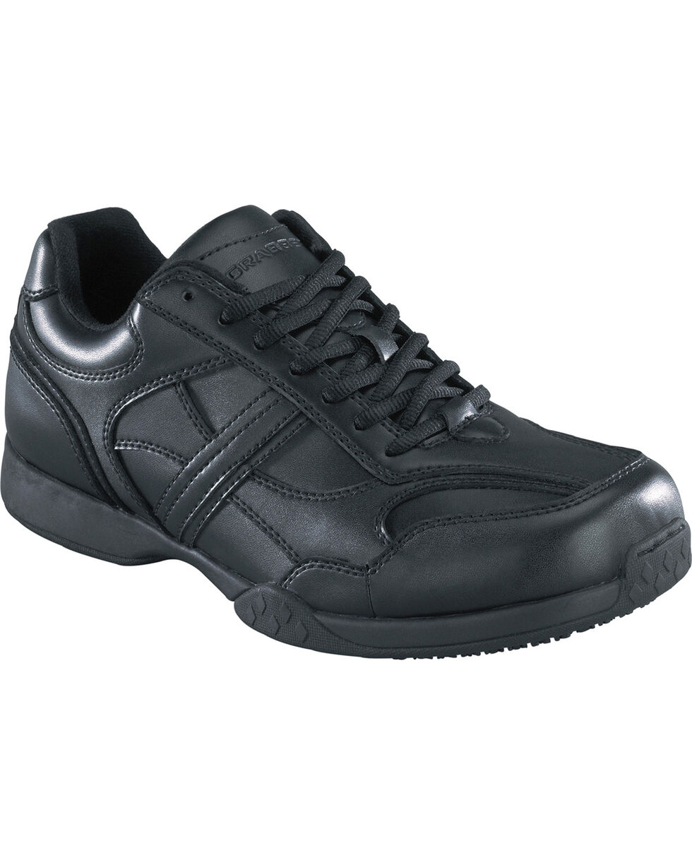 Grabbers Men's Calypso Work Shoes, Black, hi-res