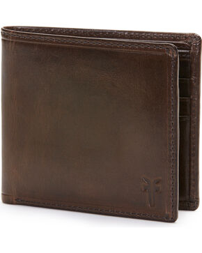 Frye Men's Logan Billfold Wallet , Slate, hi-res