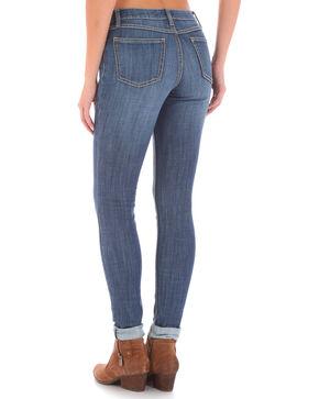 Wrangler Women's Medium Wash Retro Mae Skinny Jeans, Indigo, hi-res