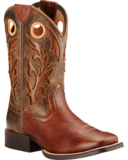 Ariat Youth Boys' Barstow Western Boots, , hi-res