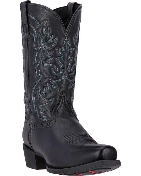 Laredo Men's Bryce Western Boots, Black, hi-res