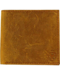 Ariat Men's Shield Logo Bi-fold Wallet , , hi-res