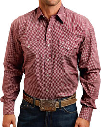 Stetson Men's Circle Printed Long Sleeve Shirt, , hi-res