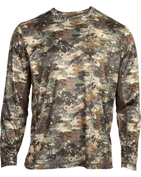 Rocky Men's Stratum Long Sleeve T-Shirt , Camouflage, hi-res
