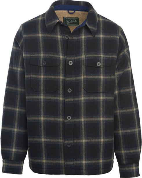 Woolrich Men's Charley Brown Shirt Jacket, Black, hi-res