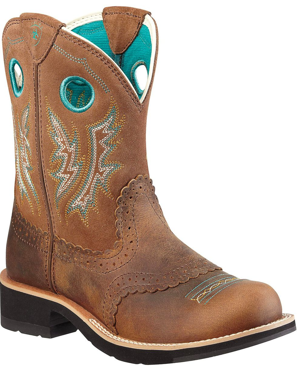 Ariat Women's Fatbaby Cowgirl Western Boots, , hi-res