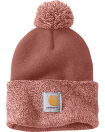 Carhartt Women's Lookout Pom Pom Hat, , hi-res