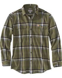 Carhartt Men's Moss Hubbard Plaid Shirt - Tall, , hi-res
