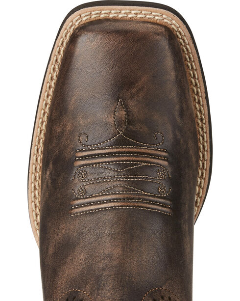 Ariat Women's Quickdraw Western Boots, Chocolate, hi-res