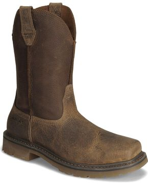 Ariat Men's Rambler Steel Toe Work Boots, Earth, hi-res