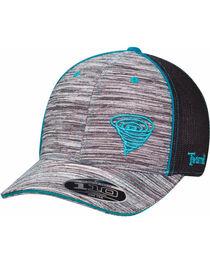 Twister Men's Grey Striped Pattern Baseball Cap , , hi-res