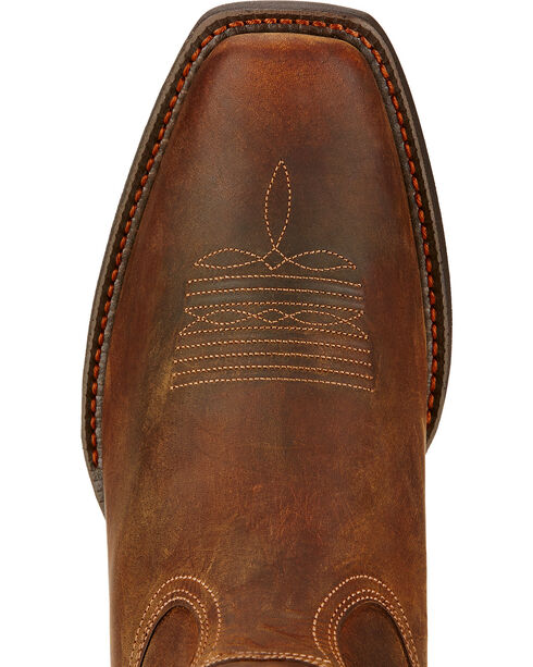 Ariat Men's Sport Square Toe Western Boots, Brown, hi-res