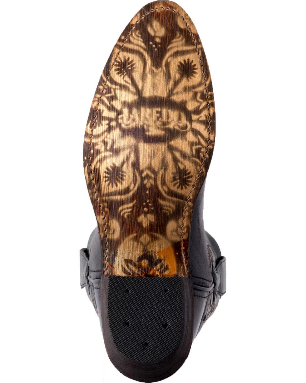 Laredo Women's Reckless Black Wild Soul Short Cowgirl Boots - Medium Toe, Black, hi-res