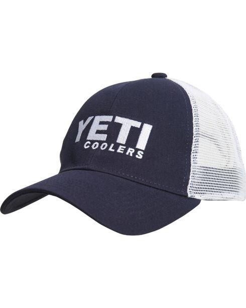 YETI Coolers Men's Traditional Trucker Cap, Navy, hi-res