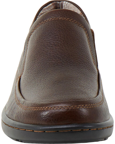 Eastland Women's Brown Kaitlyn Slip-Ons, Brown, hi-res