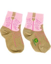 John Deere Infant Western Boot Print Socks, , hi-res