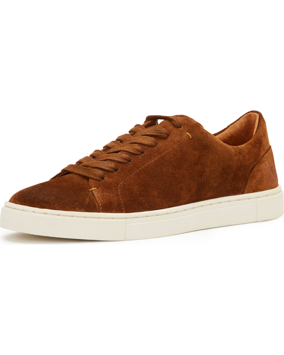 Frye Women's Rust Ivy Low Lace Sneakers, Rust Copper, hi-res