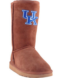 Gameday Boots Women's University of Kentucky Lambskin Boots, , hi-res