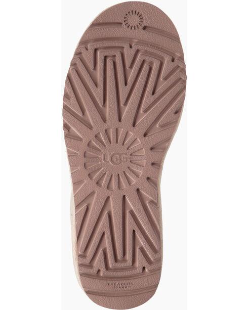 UGG Women's White Gita Short Boots - Round Toe , , hi-res