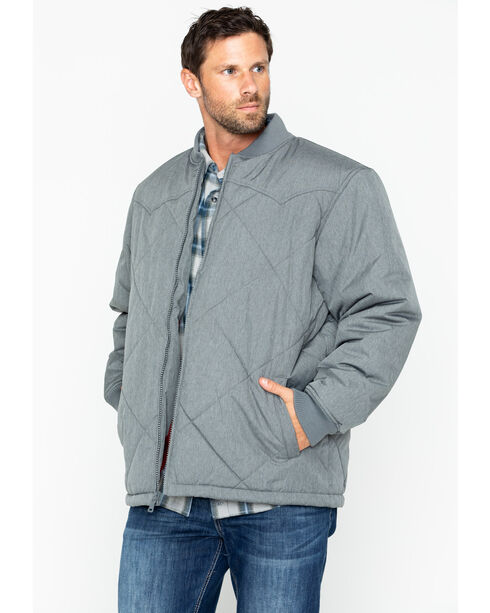 Cody James® Men's Quilted Insulation Jacket, Charcoal Grey, hi-res