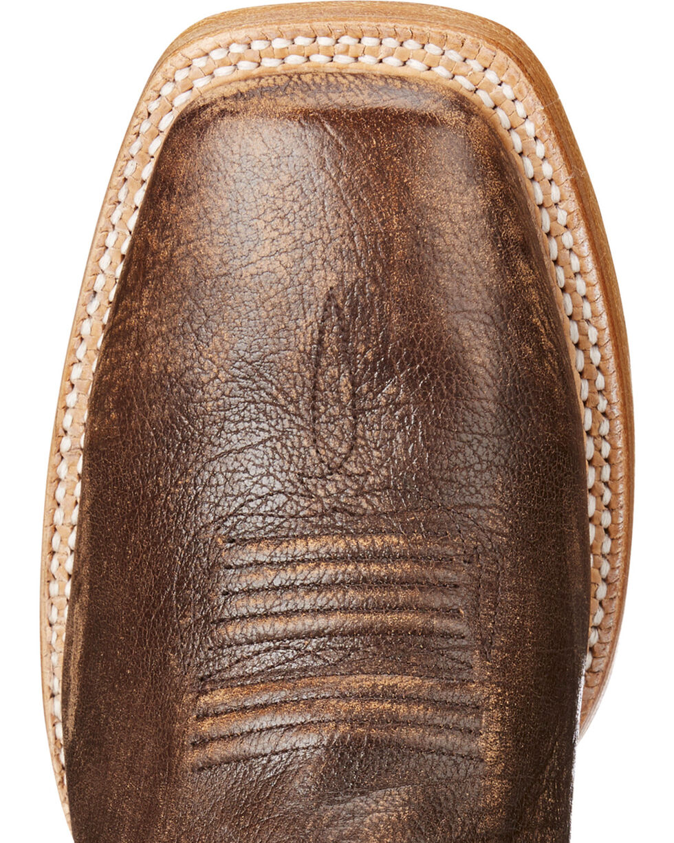 Ariat Men's Tan Elite Tough Western Boots - Square Toe , Tan, hi-res