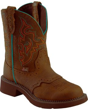 Justin Women's Gypsy Western Boots, Brown, hi-res