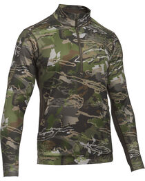 Under Armour Men's Camouflage Microthread Fleece 1/4 Zip Pullover, , hi-res