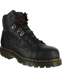 Dr. Marten's Men's Ironbridge Safety Toe Boots, , hi-res
