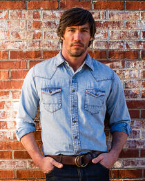Ryan Michael Men's Indigo Apache Shirt , , hi-res