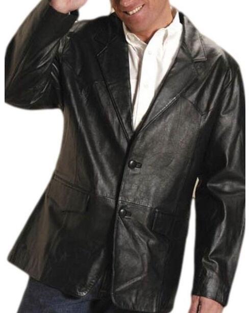 Roper Men's Black Big Mans Western Blazer - Big & Tall, , hi-res