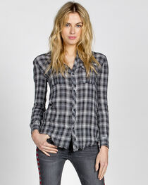 MM Vintage Women's Highway Rider Plaid Shirt, , hi-res
