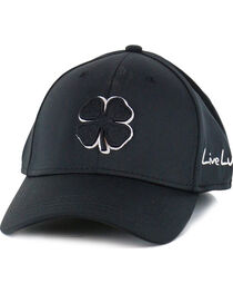 Black Clover Men's Premium Fitted Embroidered Logo Ball Cap, , hi-res