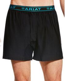 Ariat Men's Black AriatTEK UnderTEK FreeFit Boxer , , hi-res