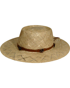 Renegade by Bailey Women's Honey Gambler Straw Hat, Natural, hi-res