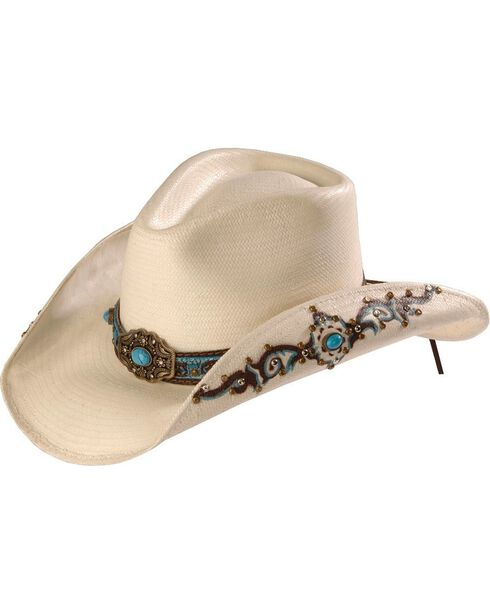Bullhide Women's Sweet Seduction Cowgirl Hat, Natural, hi-res