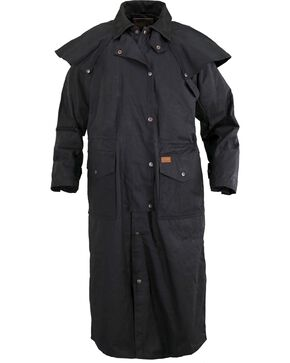 Outback Trading Co. Stockman Waterproof Duster, Black, hi-res