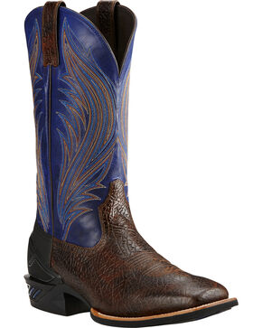 Ariat Men's Twilight Catalyst Prime Western Boots, Bark, hi-res