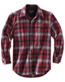 Pendleton Men's Red Ombre Lodge Shirt , , hi-res