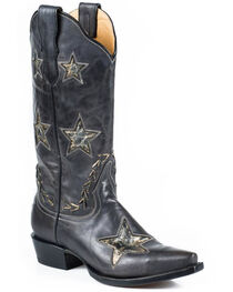 Stetson Star Cowgirl Boots - Snip Toe, , hi-res