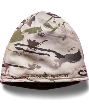Under Armour Men's Reversible Ridge Reaper Barren Beanie, Camouflage, hi-res