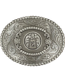 M&F Western Oil Derrick Belt Buckle, , hi-res